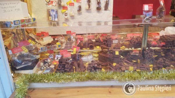 Stoiska z czekoladowymi cudami