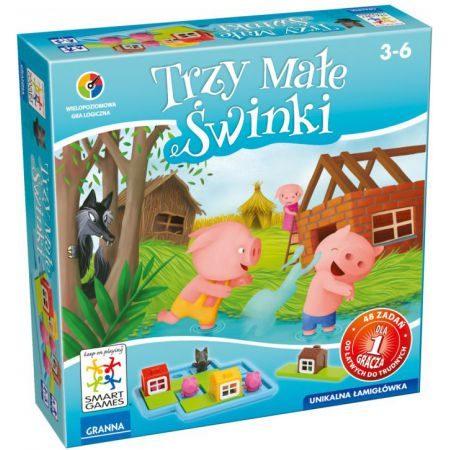 Gra Trzy małe świnki