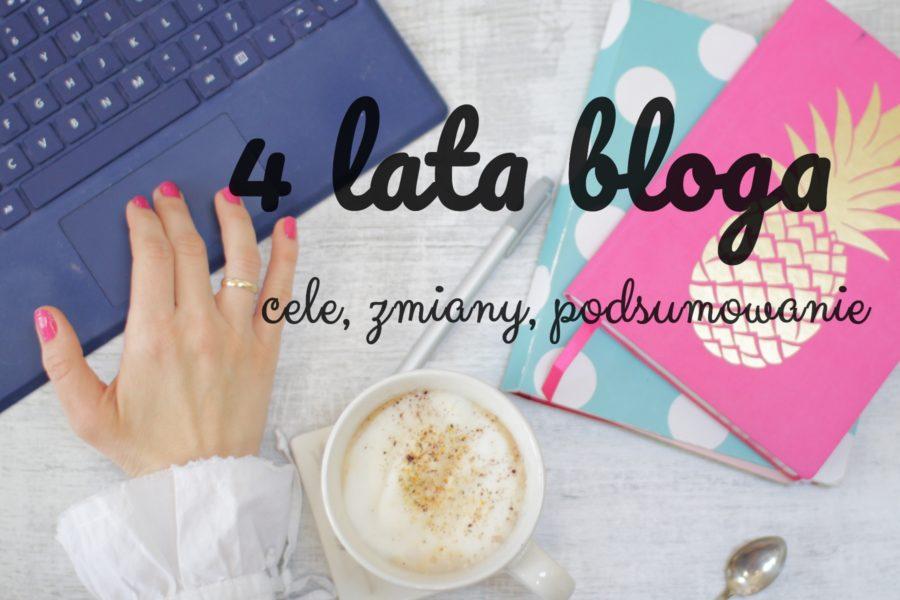 4 lata blogowania