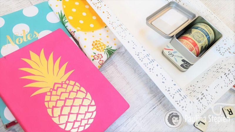 Haul zakupowy mój notes z ananasem