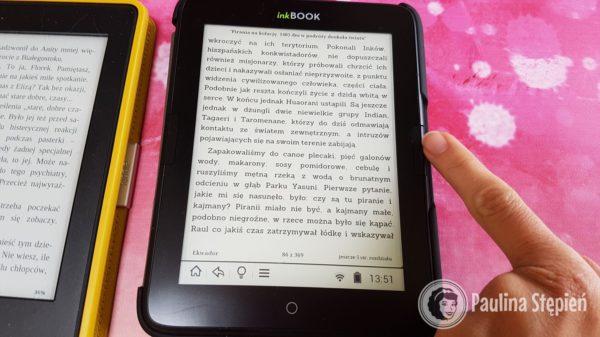 Fizyczny guzik w inkBook