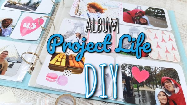 Album Project Life – wpis do albumu DIY