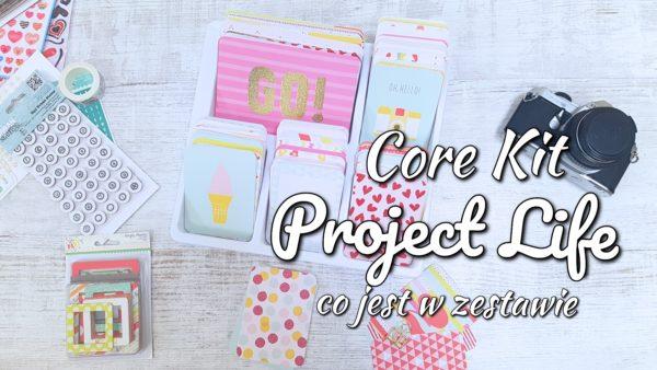 Core Kit Project Life – co jest w zestawie