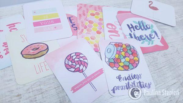 Filler cards, czyli karty z obrazkami