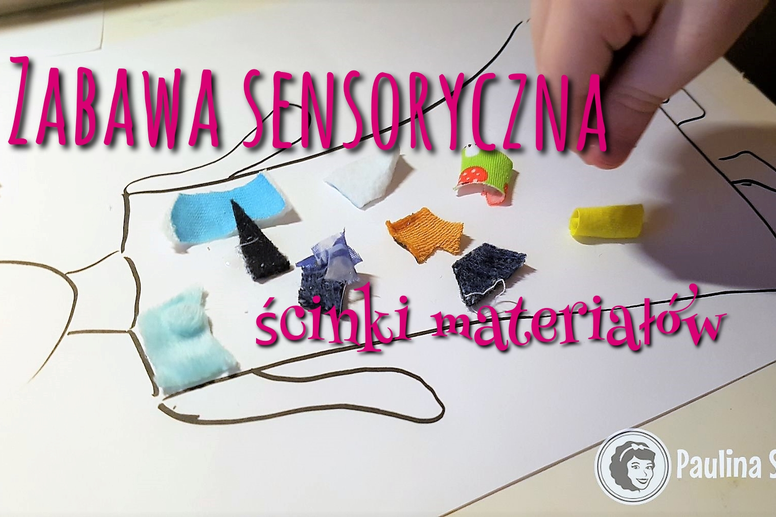 Zabawa sensoryczna ścinki