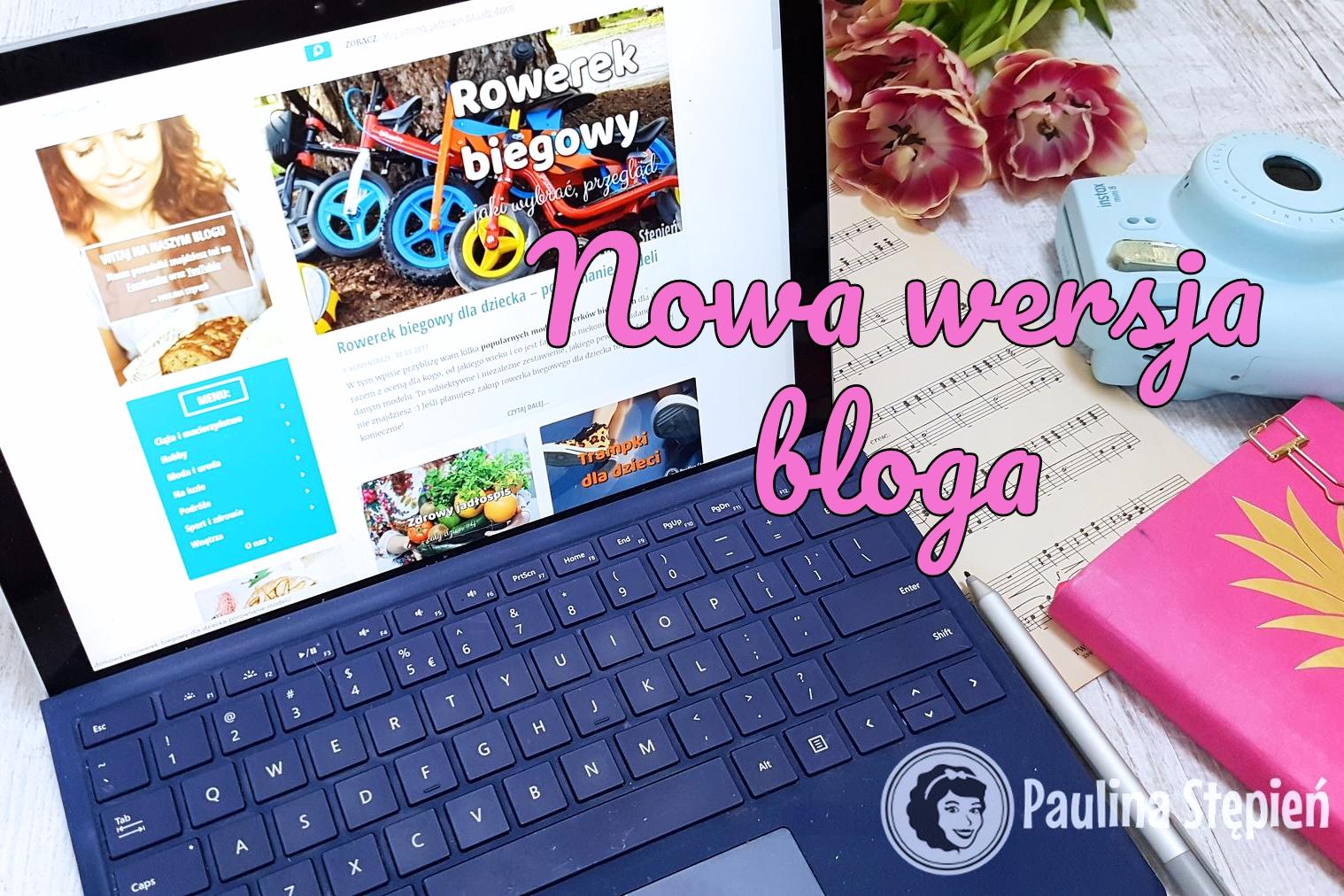 Nowa wersja bloga