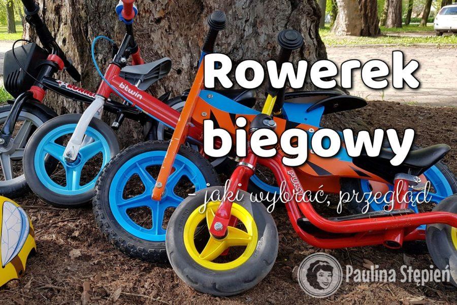 Rower biegowy