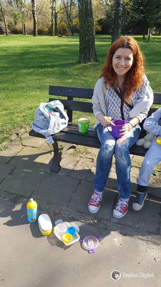 Marzę już o lecie i piknikowaniu na kocu :)