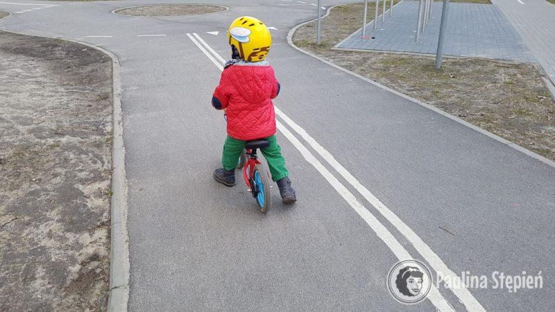 Rowerek biegowy, 3 latek