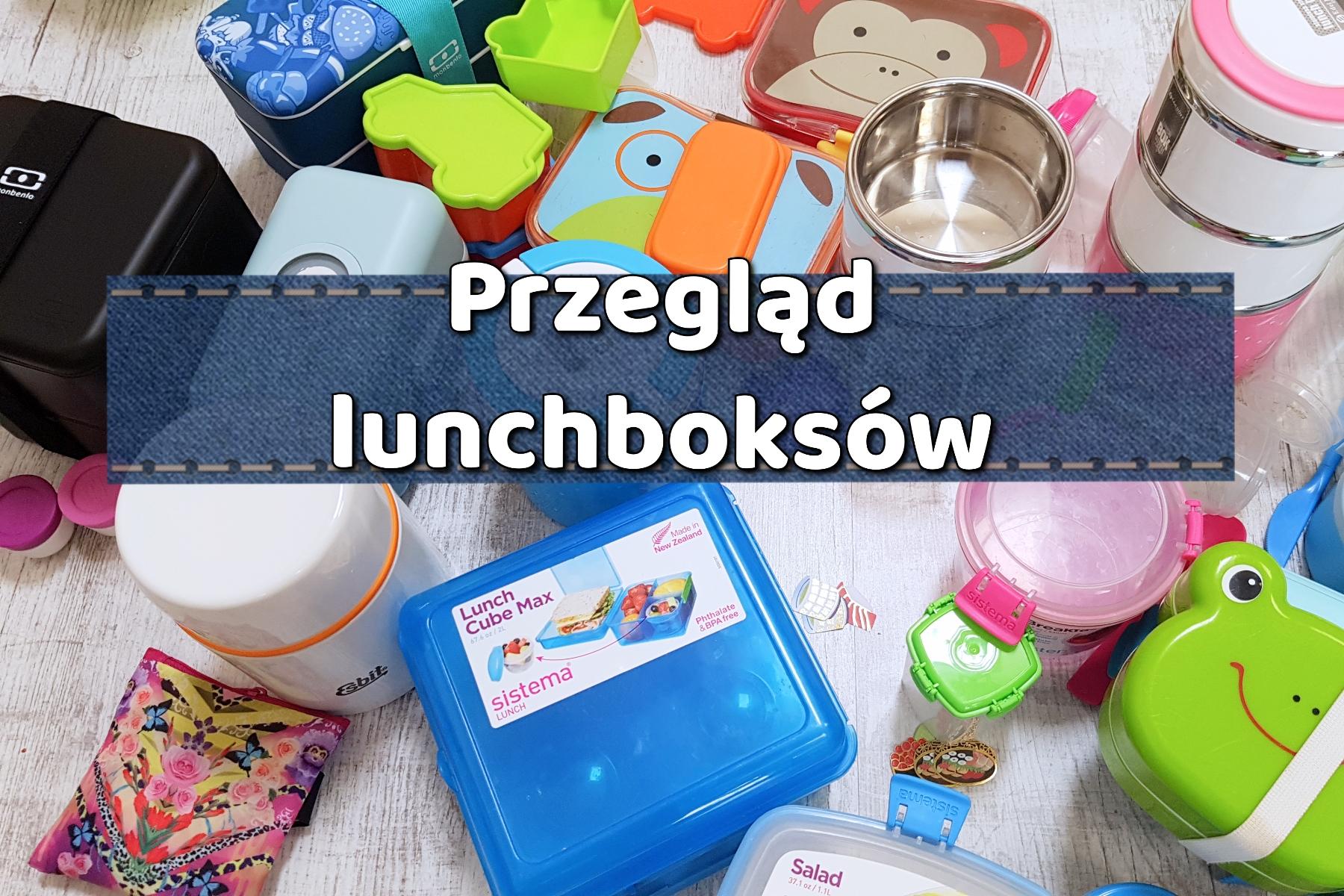 Przegląd pudełek lunchbox