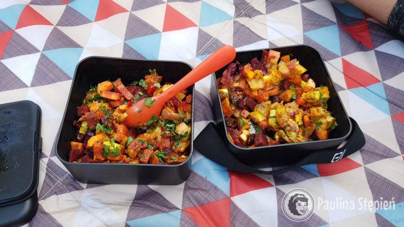 Pieczone warzywa dla dwóch osób