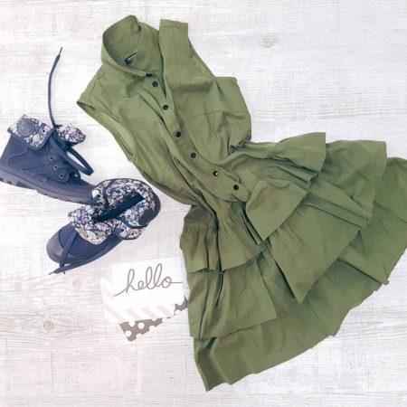 Moja sukienka w mojej ulubionej stylizacji