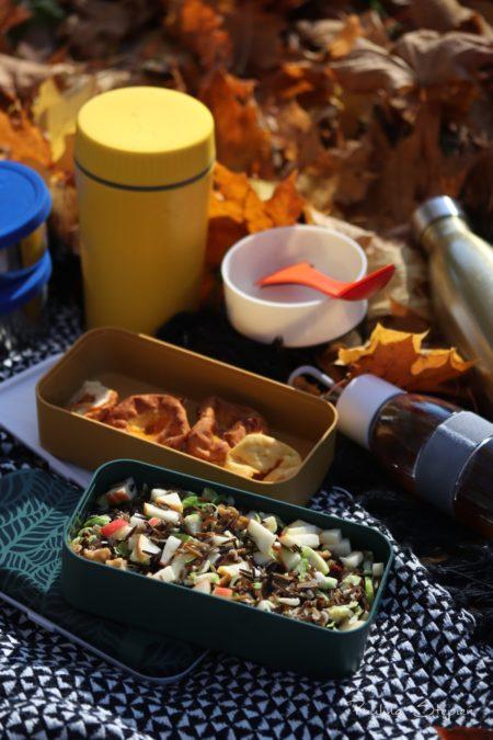 Termos, lunchboks, zdecydowanie moje klimaty na jesiennym pikniku