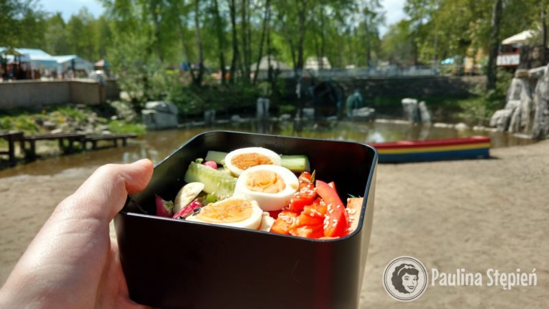 Sushi Bowl na tle Farmy Iluzji :D