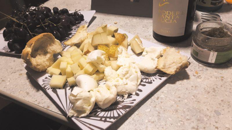 Wieczór z dobrym włoskim winem :)