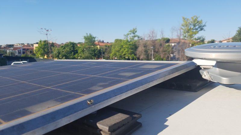 Bardzo ważna rzecz w naszym kamperze to solar :)