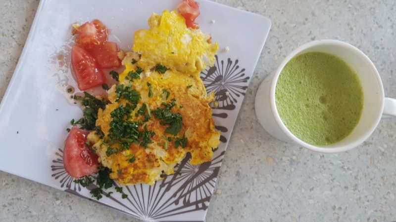 Czas na śniadanie, u nas omlet kalafiorowy