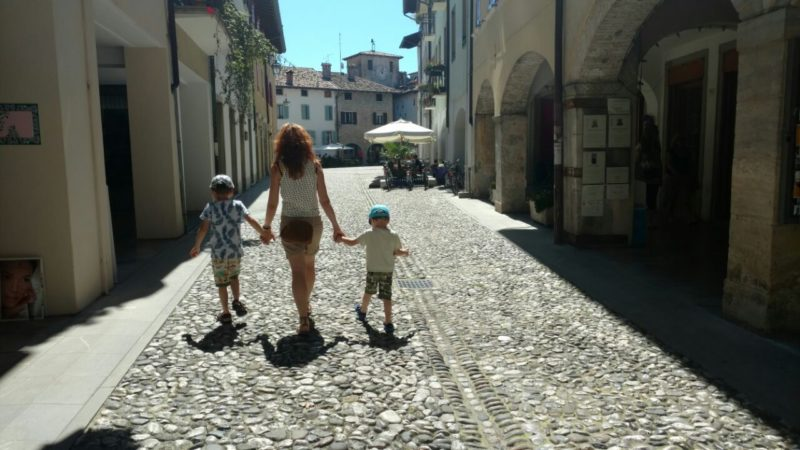 Zwiedzanie miasteczka