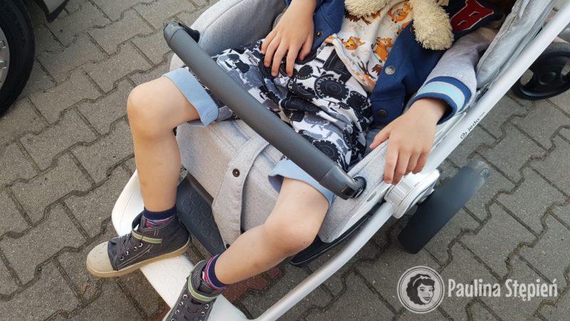 Jedo Trim tutaj duże dziecko śpiące w wózku (powyżej 3 lat)