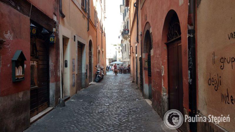 Spacerek po ulicach Rzymu