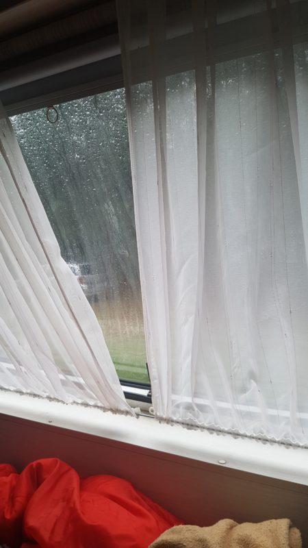 Deszczowy poranek