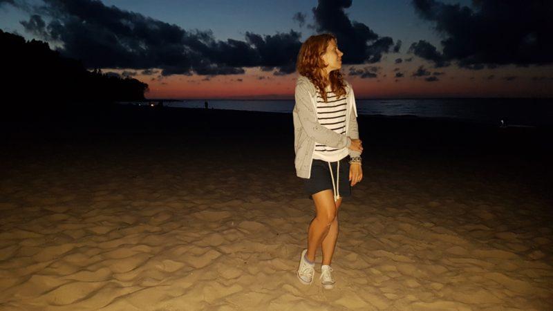 Wieczór nad morzem
