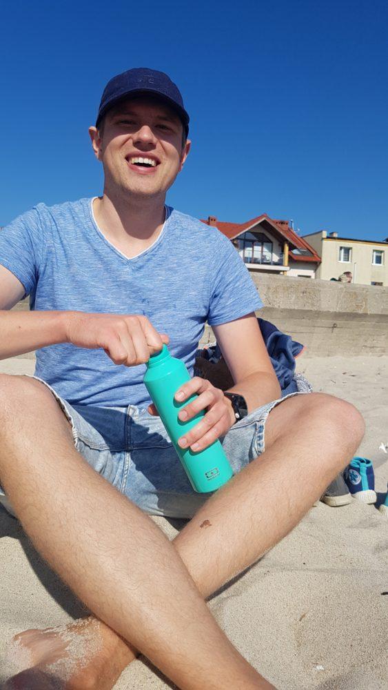 Termos na plaży, czyli polskie lato