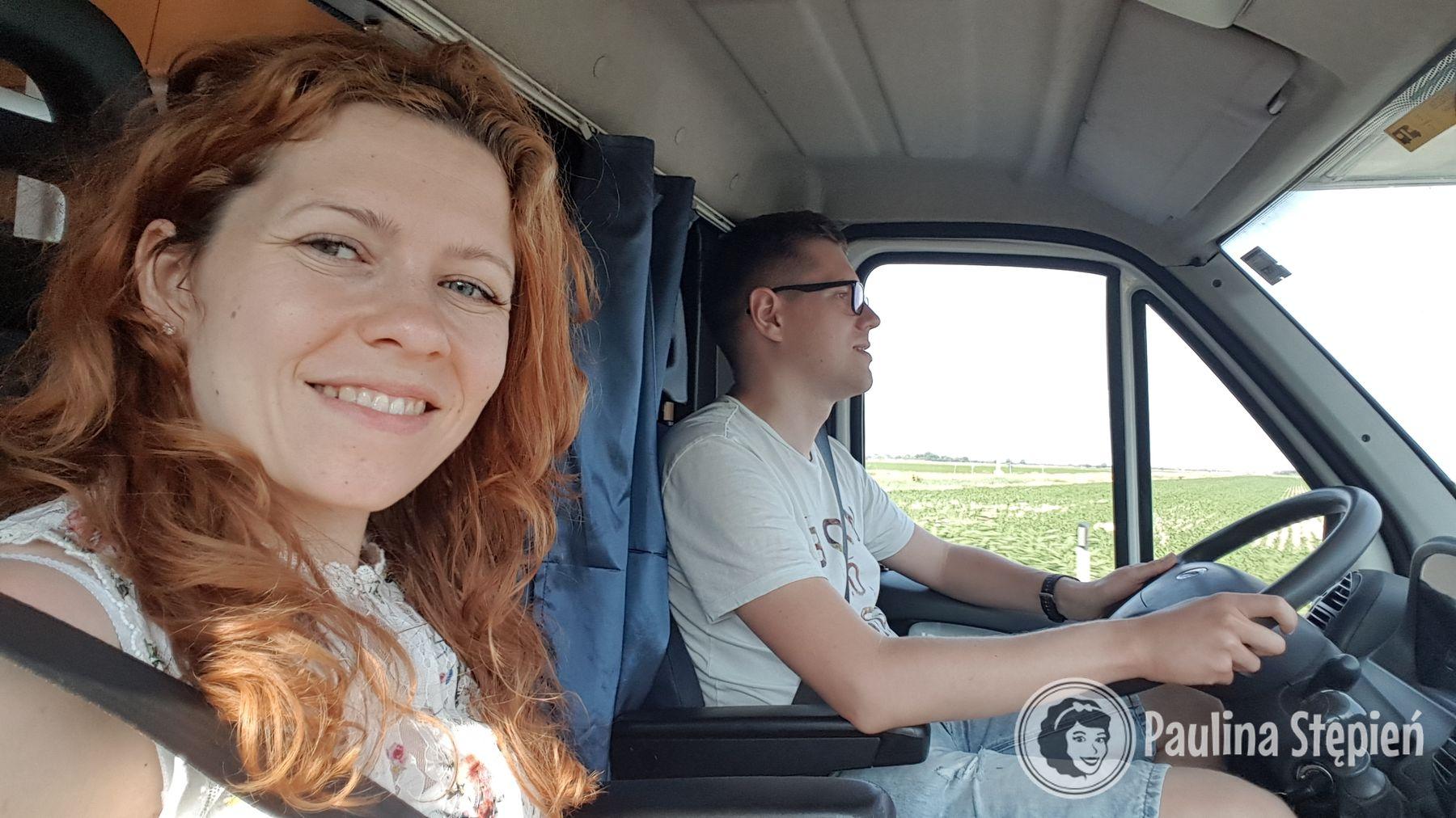 Kabina kierowcy :)