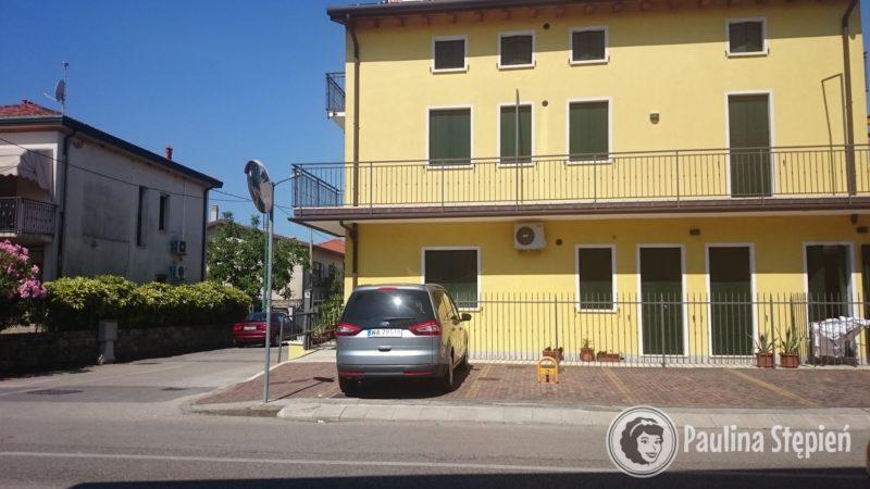 To na dole było nasze mieszkanie w Wenecji(w sumie pod Wenecji, jechaliśmy 20-30 minut autobusem, ale to było okey)
