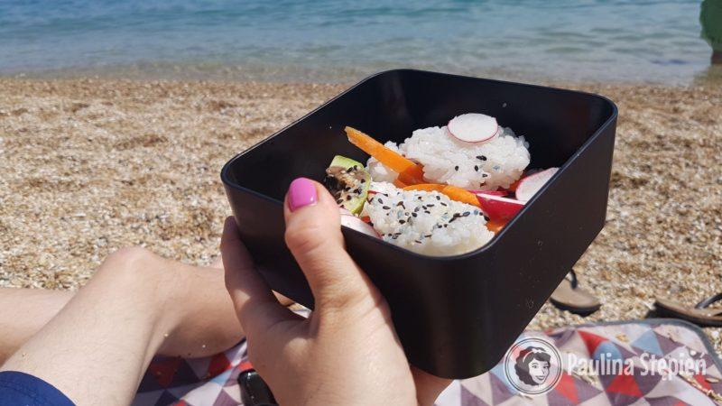 Jedzenie na plaży ;-)