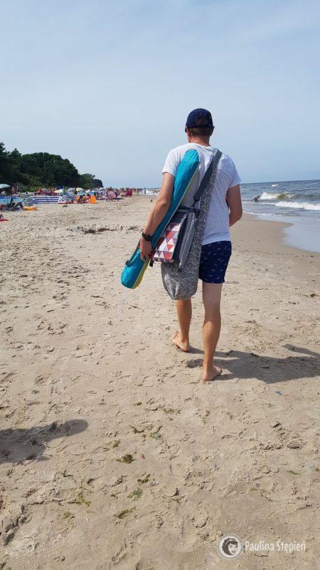 Michał, nawet nie ma dużo rzeczy plażowych