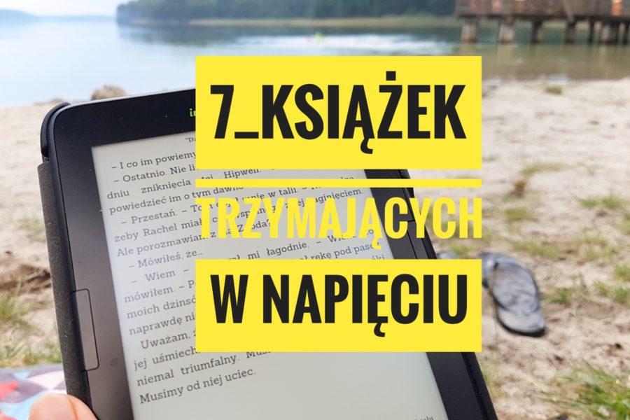 7 książek trzymających w napięciu