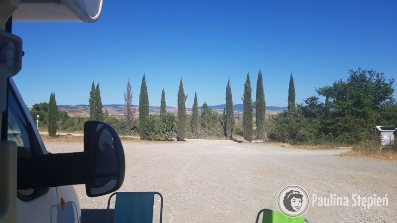 Parking Bagno Vignoni