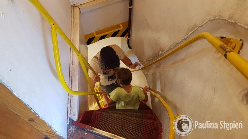 Ostanie schody-drabinka