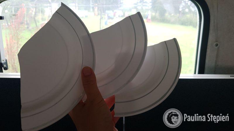 Czas chyba wracać, nasze plastikowe talerze okazały się kiepskie i właśnie jeden pękł na trzy
