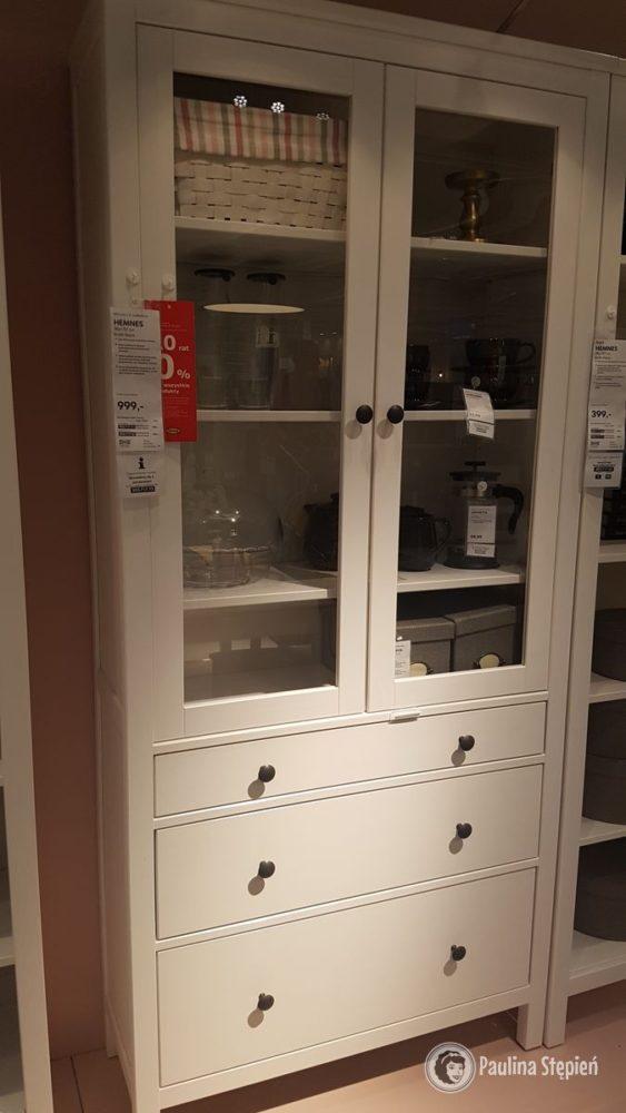 """Ikea - jeden z """"regałów"""", które wpadł mi w oko, z myślą o mich talerzach itd."""