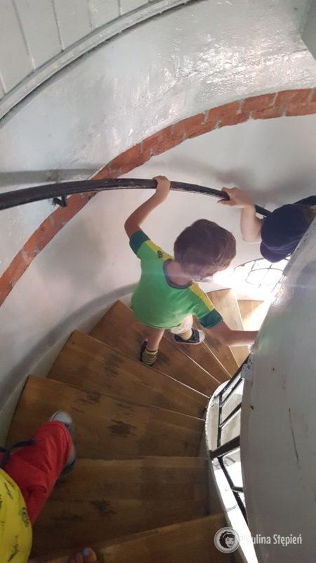 Zejście schodami w dół