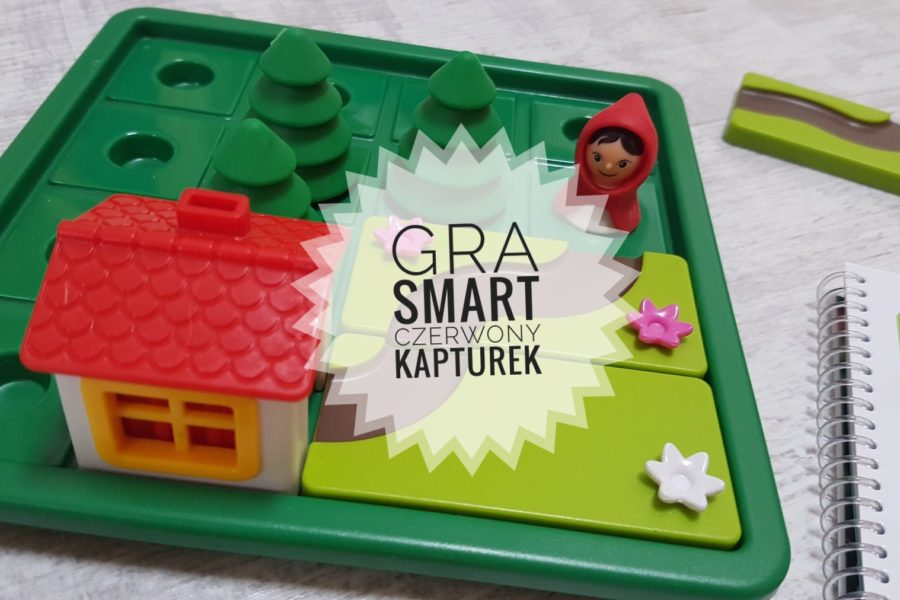 Gra smart games Czerwony Kapturek