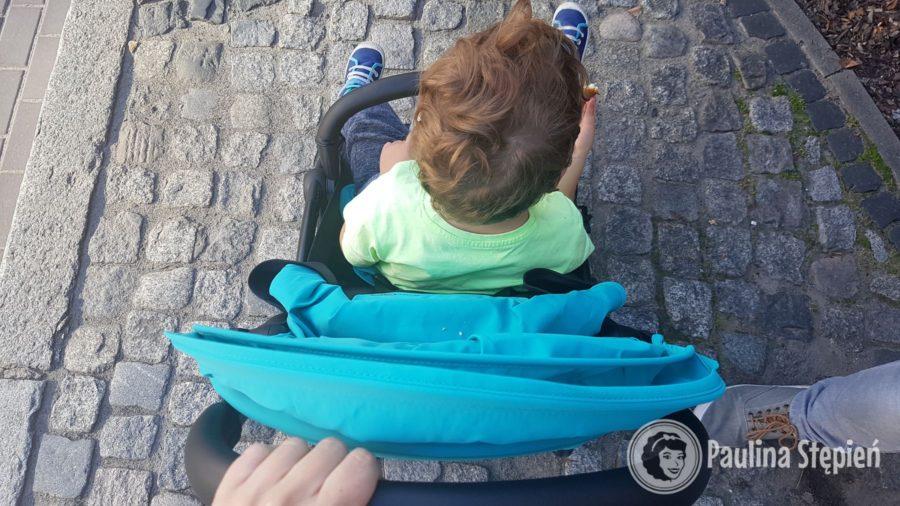 Wózek z dzieckiem ponad 3 letnim