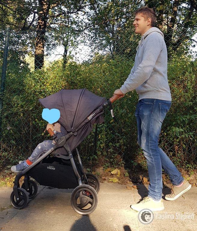 Valco baby snap Trend, Michał ma 190 cm