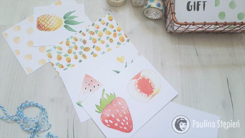 Moje ulubione karty owocowe