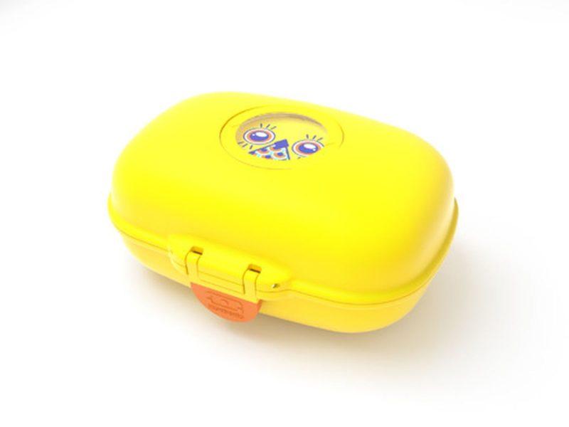 Monbento tutaj na zdjęciu jest to mniejsze, bardzo fajne jako pudełko do szkoły, na kanapki i przekąski