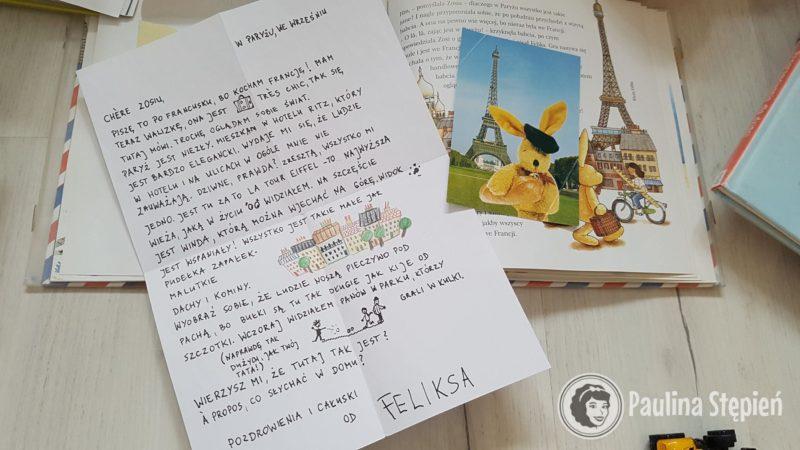 Ale nie byle jaki, ot prawdziwy list, a nawet zdjęcie ;-)