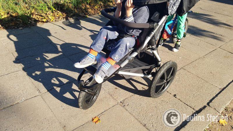Siedzisko w wózku, tutaj ponad 3 letnie dziecko