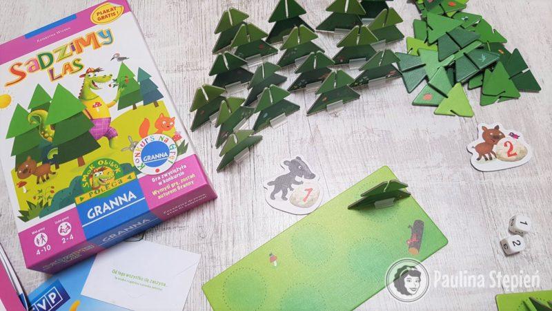 Gra Sadzimy las, idealna dla przedszkolaków. Mamy tutaj pewną decyzyjność