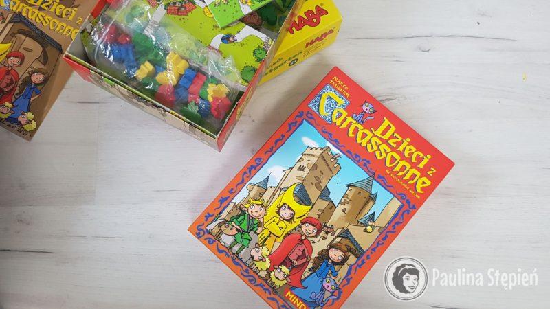 Gra Dzieci z Carcassonne, ciekawa gra kafelkowa, w której buduje się drogi