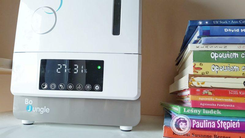 Niektóre nawilżacze mają wbudowany pomiar wilgotności pomieszczenia