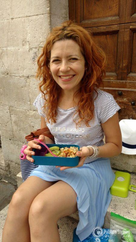A tu nasz jedzenie w Asyżu, tak planowanie było wtedy jedną z ważniejszych rzeczy