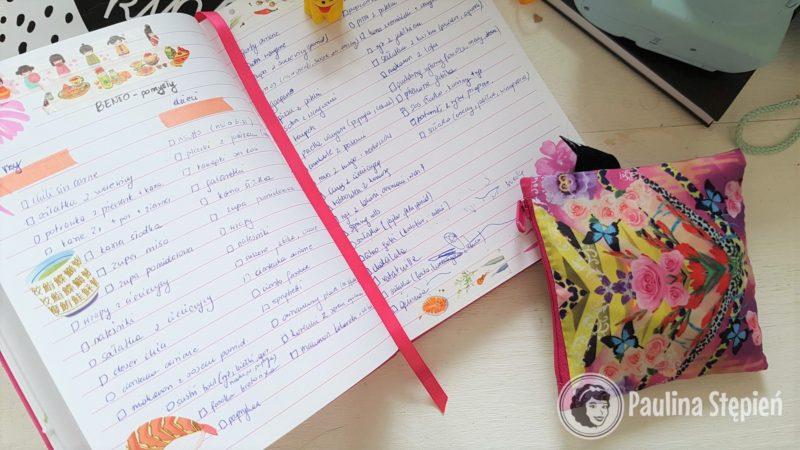 To na przykład lista dań, które spisałam planując menu na 3 tygodnie wakacji