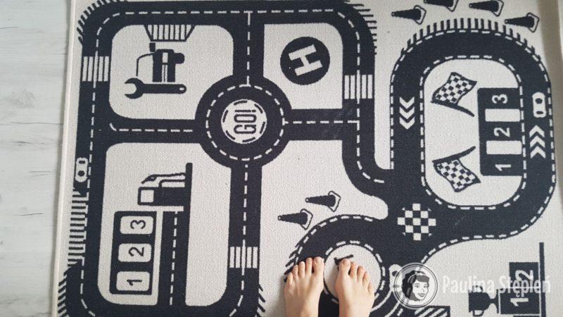 A tutaj fantastyczny dywan Race